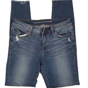 Articles of Society Sarah Skinny Jeans EUC